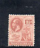 MONTSERRAT 1922-6 * - Other