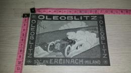 CO-6969 PUBBLICITA' MILANO SOC. AN. E. REINACH OLEOBLITZ ILLUSTRAZIONE - Chromos