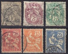 Alexandrie N° 19, 20, 23, 24, 25, 27 - Alessandria (1899-1931)