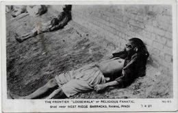 CPA Pakistan Guerre Atrocités Réal Photo Non Circulé - Pakistan
