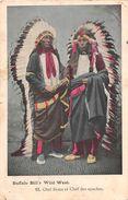 BUFFALO  BILL ' S - ( Wild West ) Cirque  - Chef SIOUX Et Chef Des Apaches - Circo