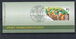 BRD, 1986, Markenheftchen Sporthilfe Mit Michel 1269, Postfrisch/**/MNH - Carnets