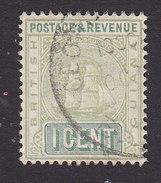 British Guiana, Scott #160, Used, Seal Of The Colony, Issued 1905 - British Guiana (...-1966)