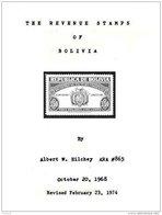 BOLIVIA, The Revenue Stamps Of Bolivia, By Albert Hilchey - Bolivie