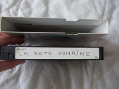 Cassette Vidéo Film La Bête Humaine Train - Autres