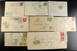 POSTAGE DUE STAMPS ON COVERS & CARDS COLLECTION 1903-60's  An Attractive And Interesting Collection Of Commercial Covers - Australia