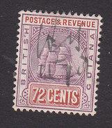 British Guiana, Scott #169, Used, Seal Of The Colony, Issued 1905 - British Guiana (...-1966)