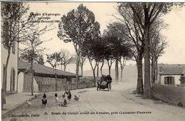 Coupe Gordon Bennett 1905 - Circuit D'Auvergne - Route Du Circuit Avant Les 4 Routes, Près Clermont-Ferrand - CPA - Grand Prix / F1