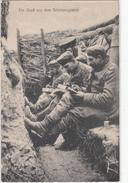 CPA Allemande-Ein Gruss Aus Dern Schützengraben(guerre De 14-18)2scans - Guerre 1914-18