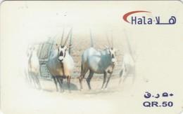 Qatar,  QA-QNT-REF-0004, Fauna, Animals, 2 Scans. - Qatar