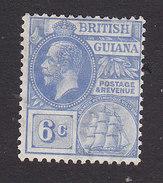 British Guiana, Scott #195, Mint Hinged, George V, Issued 1921 - British Guiana (...-1966)