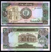 Sudan 100 Pounds 1988 UNC - Soudan