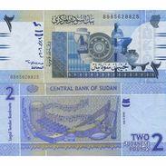 Sudan 2 Pounds 2006 UNC - Soudan