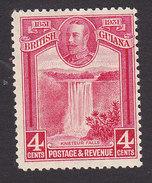 British Guiana, Scott #207, Mint Hinged, Kaieteur Falls, Issued 1931 - British Guiana (...-1966)