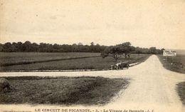 Grand Prix  -  Circuit De Picardie 1907  -  Le Virage De Demuin - CPA - Grand Prix / F1