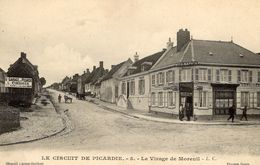 Grand Prix  -  Circuit De Picardie 1907  -  Le Virage De Moreuil - CPA - Grand Prix / F1