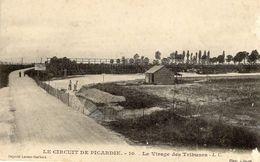Grand Prix  -  Circuit De Picardie 1907  -  Le Virage Des Tribunes - CPA - Grand Prix / F1
