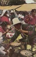 Guatemala Chichicastenango Typical Market Scene - Guatemala