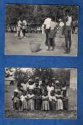 Republique Centrafricaine Oubangui Chari Alindoa Et Congo Kahemba Lot De 4 Cartes Postales ( Format 10,5 X 15 ) - Zentralafrik. Republik
