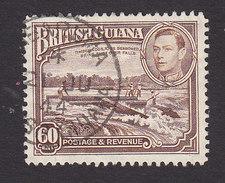 British Guiana, Scott #237, Used, Scene Of British Guiana, Issued 1938 - British Guiana (...-1966)