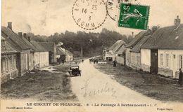 Grand Prix  -  Circuit De Picardie 1907  -  Le Passage à Berteaucourt - CPA - Grand Prix / F1