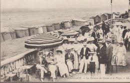 Houlgate - La Terrasse Du Casino Et La Plage - Houlgate