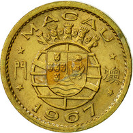 Macau, 5 Avos, 1967, TTB+, Nickel-brass, KM:1a - Macao