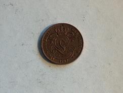 Belgique 1 Cent 1907 Centime - 1865-1909: Leopold II