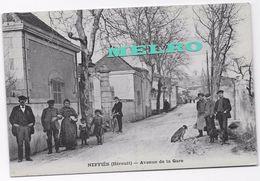 CPA -NEFFIÈS (Hérault) - Avenue De La Gare. - Otros Municipios
