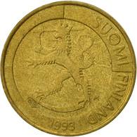Finlande, Markka, 1993, TTB, Aluminum-Bronze, KM:76 - Finlande