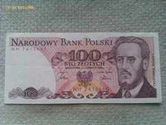 Billete Polonia. 100 Zlotich. 1986. Muy Buena Conservación - Polonia