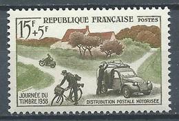France YT N°1151 Journée Du Timbre 1958 Neuf ** - Neufs