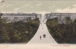 Scotland Glasgow Scene In Queen's Park 1904