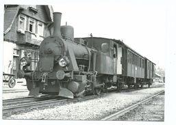 CPSM BVA En Gare De Triengen- Winikon Locomotive Henschel N°11099 De 1911 Photo Dehanne 2427 22048 - Gares - Avec Trains