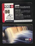 Estonia - 2001 - Waterfall, 20.000 Issued - Estonie