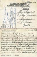 PRIGIONIERI POW CAMP 653 ITALIAN PIONEER COY ALGERIA 1943 LAURINO - Posta Militare (PM)
