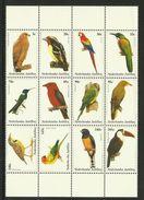 NETH. ANTILLES 2002 BIRDS SHEET MNH - Pájaros