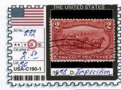 AMERICA:UNITED STATES-CLASSIC# SERIE(S) (USA-C190-1 (36) - 1847-99 Emissioni Generali