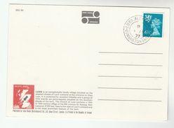 1977 LUSS ALEXANDRIA Cds GB COVER (postcard Luss) Scottish Regional Stamps Dragon - 1952-.... (Elizabeth II)
