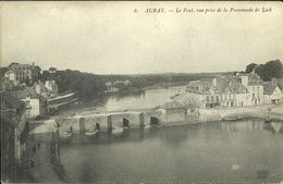 AURAY -- Le Pont, Vue Prise De La Promenade Le Loch                        -- ND 6 - Auray