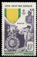 COTE DES SOMALIS - Centenaire De La Médaille Militaire - Côte Française Des Somalis (1894-1967)