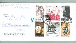 Sweden. Cover Scandic Hotels 1997.Compl.Set 1990 Taube & Bellman.Cancl: Cuxhaven - Sweden