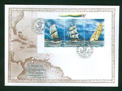 Sweden.  FDC 1992. Europa XXI  Ships Columbus.  Engraver  Martin  Morck - FDC