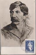 WRITER MAXI CARD  ROMANIA WRITER ALEXANDRU VLAHUTA 1858-1919 - Maximumkarten (MC)
