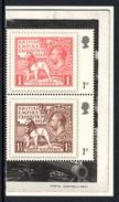 GREAT BRITAIN 2010 British Empire Exhibition 1st Class: Pair Of Stamps (ex PSB) UM/MNH - Nuovi