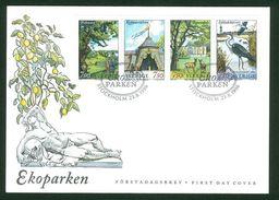Sweden. FDC Cachet 1996. The Eco Park.  Engraver M Morck -  P. Naszarkowski - FDC