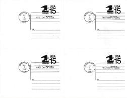 UNITED STATES, 1990, Inteiro Postal/Postal Stationery - 1981-00