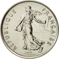 France, Semeuse, 5 Francs, 1982, Paris, FDC, Nickel Clad Copper-Nickel - France