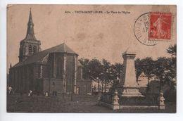 TRITH SAINT LEGER (59) - LA PLACE DE L'EGLISE - France
