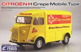 Citroën H Crepe Mobile Type ( Ebbro ) 1/24 - Trucks And Trailers